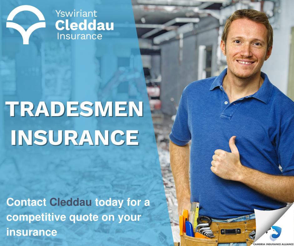 Tradesman Insurance promotion
