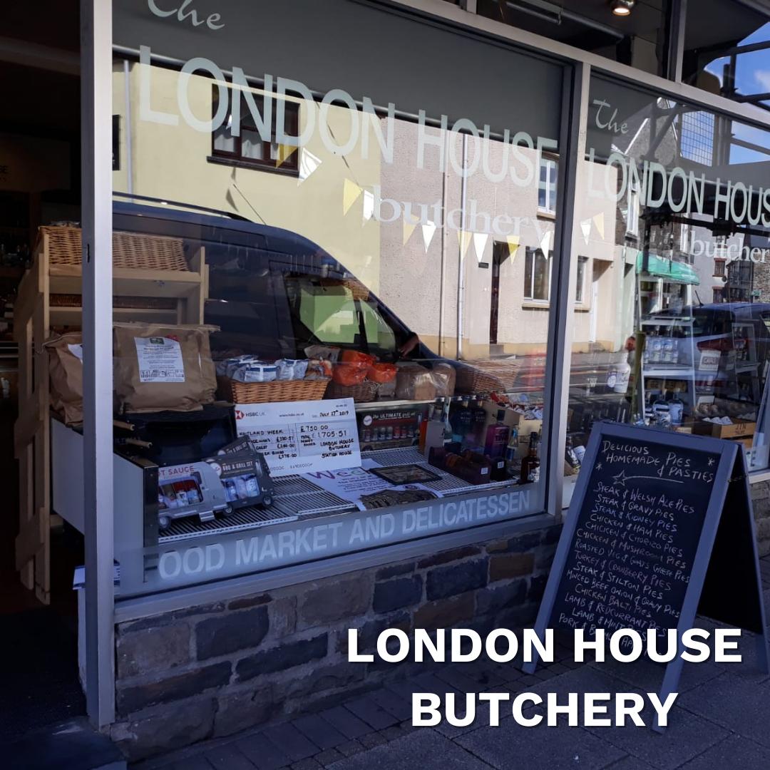 London House Butchery, Whitland