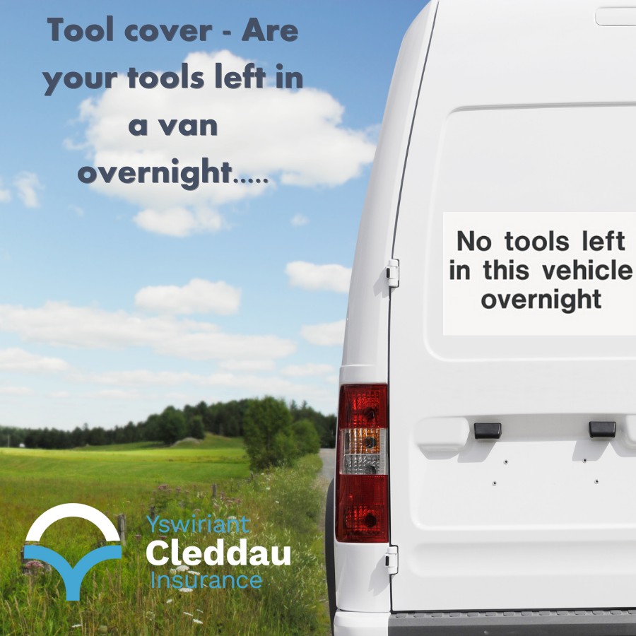 Tool Cover - Tradesmen Insurance most common claims